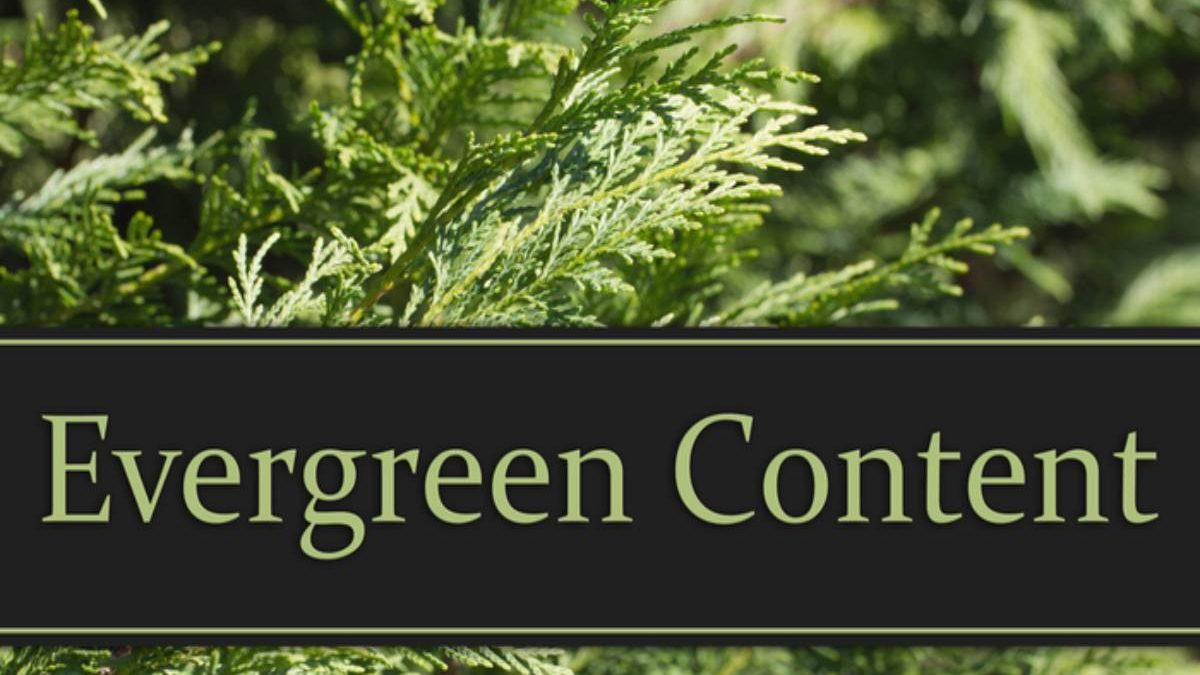 What is Evergreen content? – Topics, Examples, and More