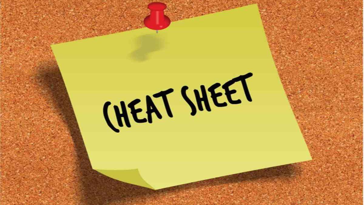 A Marketer's Cheat Sheet To Copywriting