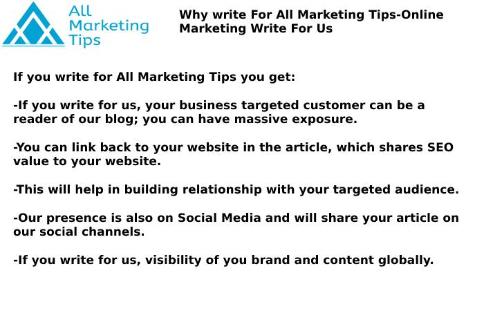 Online Marketing Write For Us