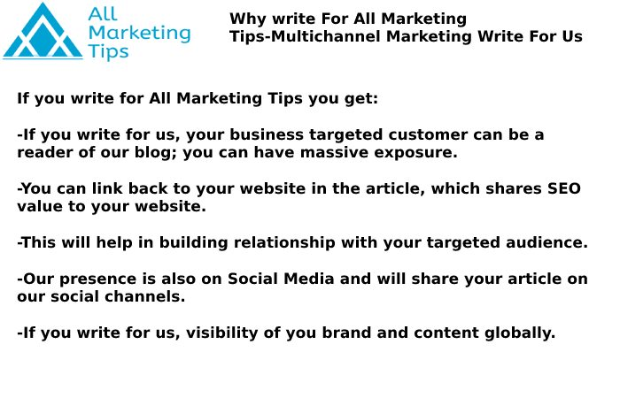 Multichannel Marketing Write For Us