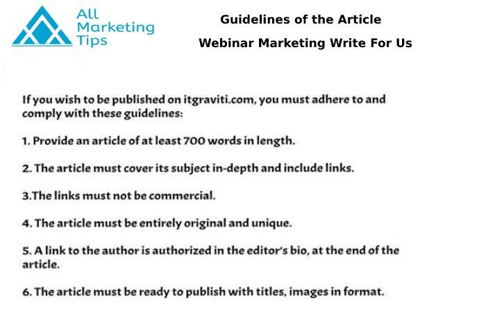 Webinar Marketing AMT