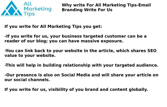 Email Branding Write For Us